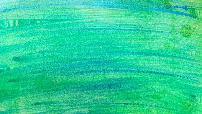 Schmuckbild: Aquarell Grün