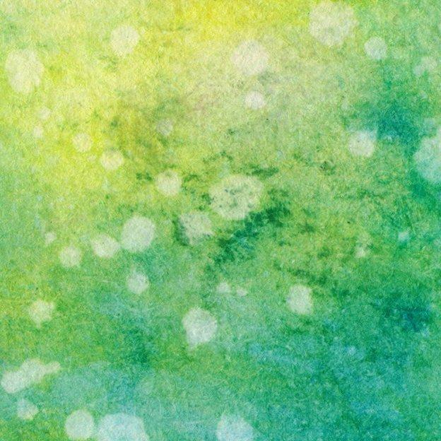 Schmuckbild: Aquarell Grün, Gelb