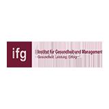 Institut für Gesundheit und Management - öffnet Inhalt im Akkordeon
